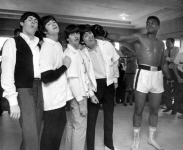 beatles_muhammad ali1963