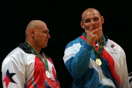 KARELIN och GHAFFARI, OS 1996