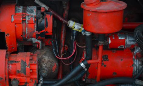 traktormotor