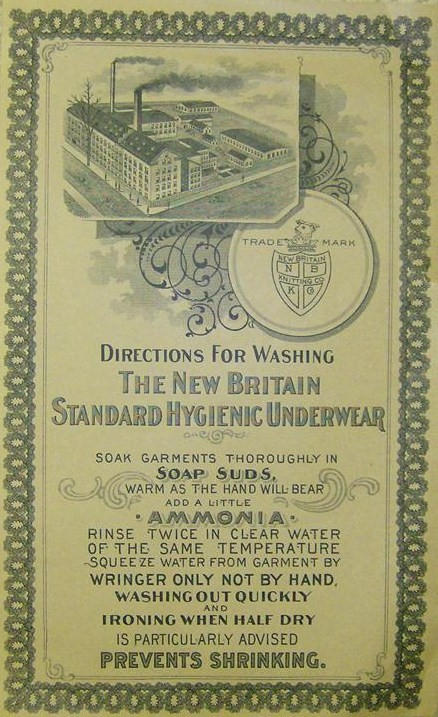 NewBritainUnderwearWashingDirections_1915