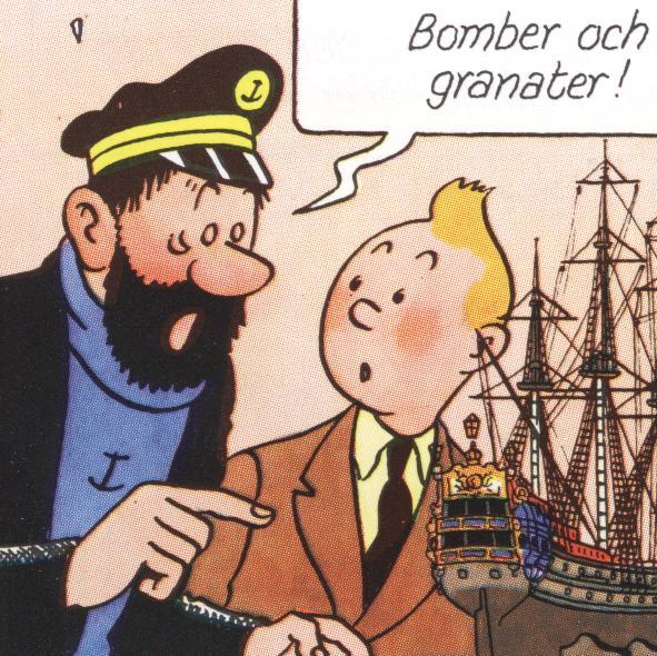bomberochgranater