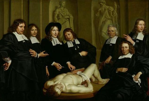 Dr. Frederik Ruysch | Adriaen Backer
