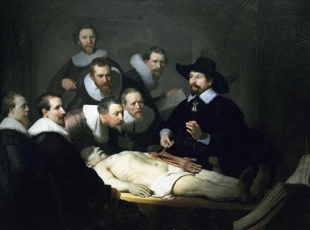 Dr. Nicolaes Tulp | Rembrandt