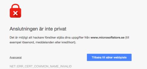 inte privat