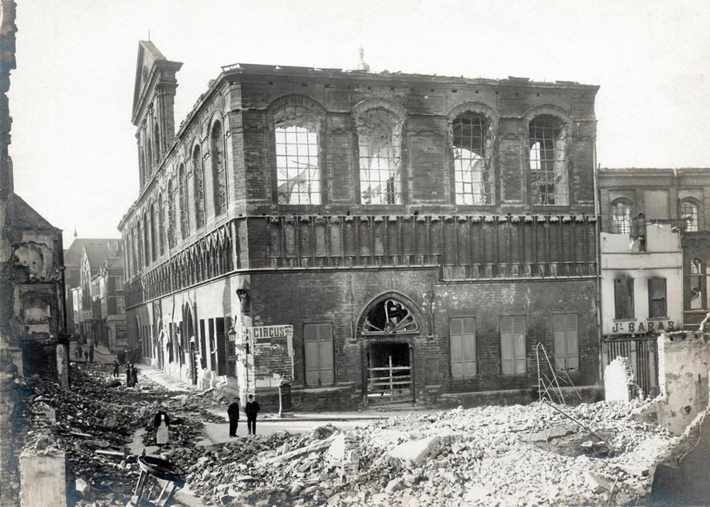 Die alte Bibliothek_1914
