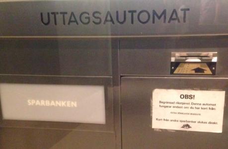 uttagsautomat