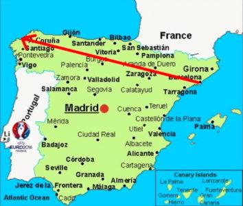 spanienkarta