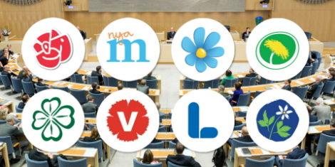riksdagspartier