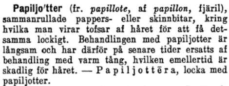 Ur Nordisk Familjebok, Uggleupplagan.